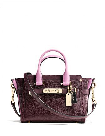 Coach Swagger 20 Colorblock Satchel
