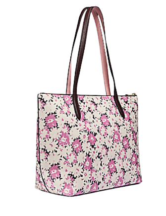 Coach Taylor Tote With Daisy Print