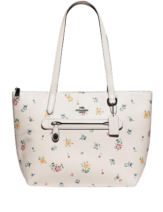 Coach Taylor Tote With Wildflower Print