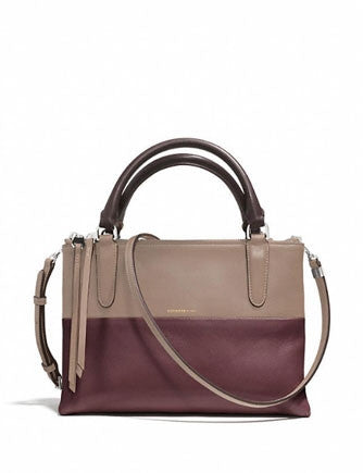 Coach The Mini Borough Bag In Retro Colorblocked Leather