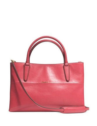 Coach The Soft Borough Bag In Smooth Nappa Leather