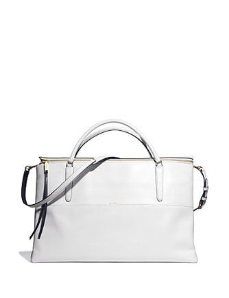 Coach The Weekend Borough Bag in Smooth Edgepaint Leather