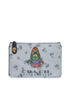 Coach Turnlock Pouch 26 With Rainbow Signature Sharky