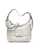 Coach Kristin Woven Leather Hobo
