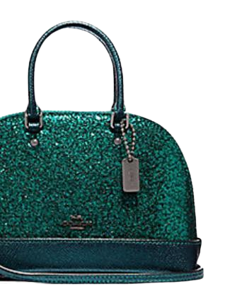 Coach Wizard of Oz Glitter Micro Mini Sierra Satchel