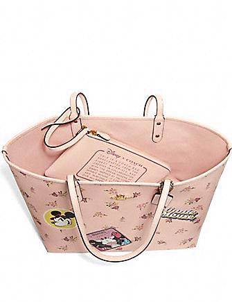 Coach X Disney Minnie Mouse Reversible City Tote