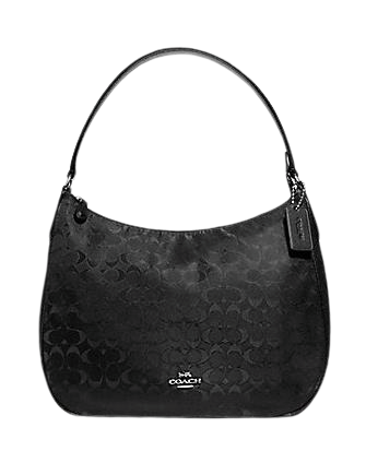 Coach Zip Shoulder Bag in Signature Nylon