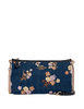 Coach Zip Top Crossbody With Painted Floral Box Print