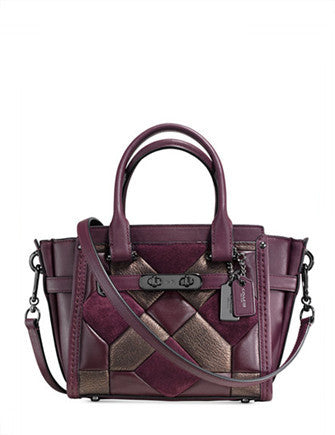 Coach Canyon Quilt Swagger 21 Caryall in Mixed Materials