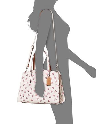 a45730dc6867 Coach Charlie Carryall with Floral Bloom