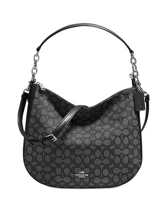 Coach Chelsea Hobo 32 in Signature Jacquard