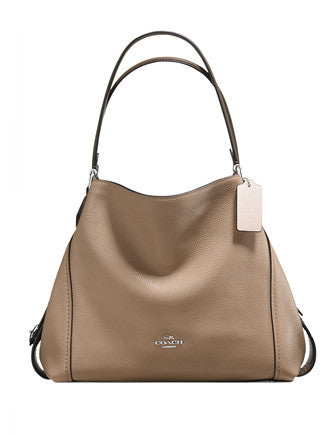 Coach Colorblock Edie Shoulder Bag 31 in Mixed Materials