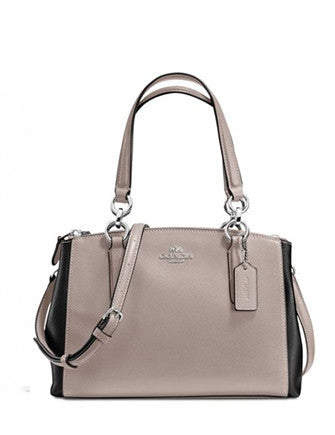 Coach Colorblock Mini Christie Carryall Satchel
