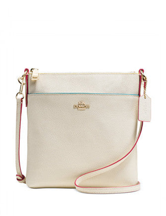 Coach Courier Crossbody in Edgestain Crossgrain Leather
