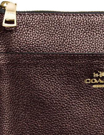 Coach Courier Crossbody in Polished Pebbled Leather