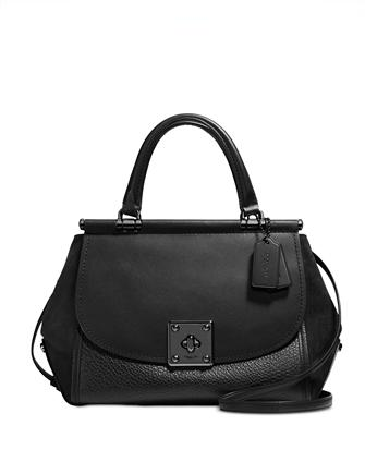 Coach Drifter in Mixed Leather