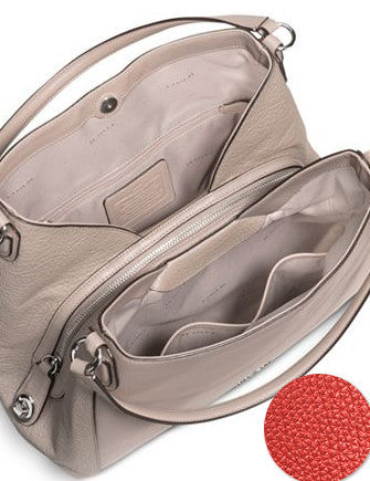 c1daed0dadf4 Coach Edie Shoulder Bag 31 in Polished Pebble Leather