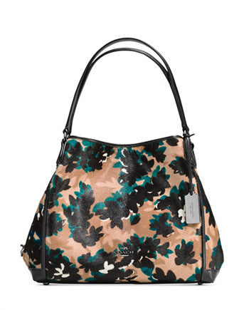 Coach Edie Shoulder Bag 31 in Printed Calf Hair