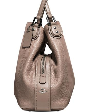 cb5a0595290a Coach Edie Shoulder Bag 42 In Mixed Leathers