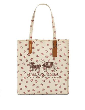 Coach Horse & Carriage Logo Medium Tote