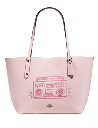 Coach Keith Haring Boombox Market Tote
