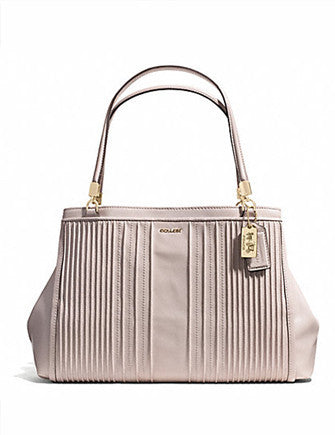 Coach Madison Cafe Carryall in Pinktuck Leather