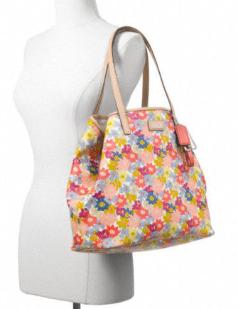 Coach Metro Floral Print Tote
