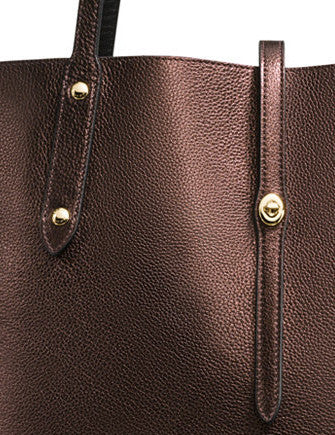 Coach Market Tote in Pebble Leather