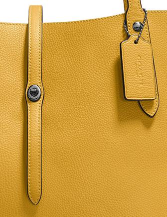 11d5a505cf Coach Market Tote in Polished Pebble Leather
