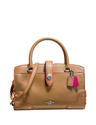 Coach Mercer Satchel 24 in Edgestain Leather