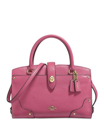 Coach Mercer Satchel 24 in Grain Leather
