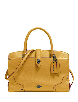 Coach Mercer Satchel 30 in Grain Leather  68c618d8c592c