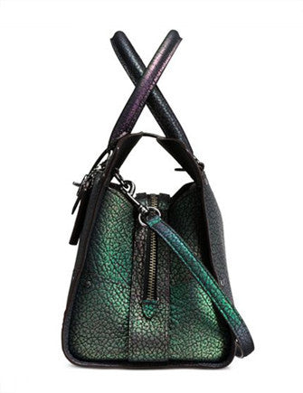Coach Mercer Satchel 30 in Hologram Leather