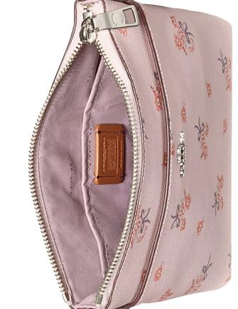 Coach Floral Bow Messenger Mini Crossbody
