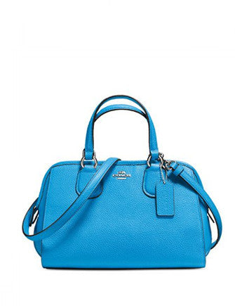 Coach Mini Nolita Satchel in Pebble Leather