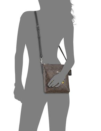 Coach NY Stories Taxi Signature Crossbody