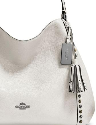 Coach Outline Studs And Grommets Edie 31 Shoulder Bag