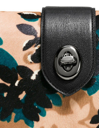 Coach Page Crossbody in Printed Calf Hair