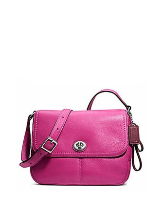 Coach Park Leather Violet Crossbody