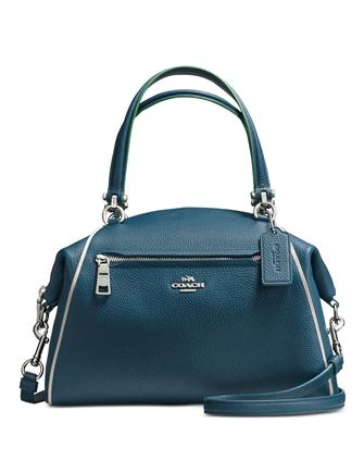 Coach Prairie Satchel in Edgestain Leather