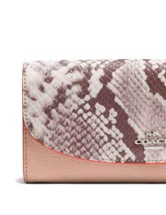 Coach Slim Envelope Wallet With Python Embossed Leather