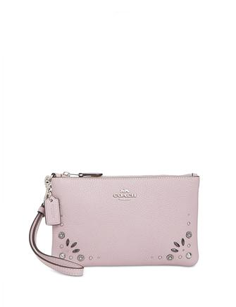 Coach Small Studded Wristlet