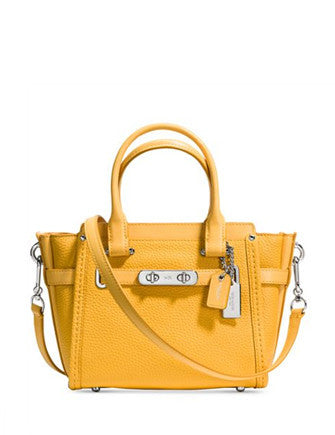 Coach Swagger 21 Carryall in Pebble Leather