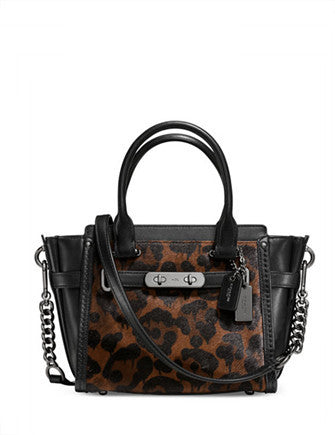 Coach Swagger 21 in Printed Calf Hair