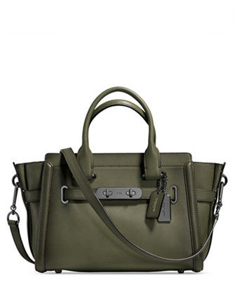 Coach Swagger 27 in Burnished Leather