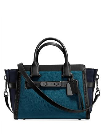 Coach Swagger 27 in Mixed Leather