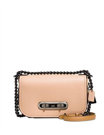 Coach Swagger Mini Shoulder Bag 20 with Link Detail