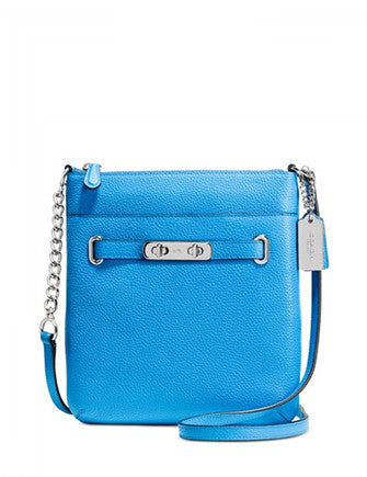 Coach Swagger Swingpack in Polished Pebble Leather