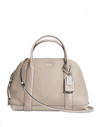 Coach Bleecker Preston Satchel in Pebbled Leather