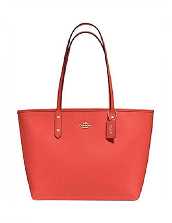 Coach City Zip Tote in Crossgrain Leather
